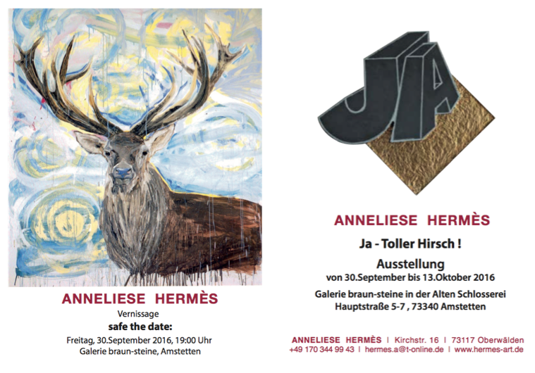 Anneliese Hermes Ausstellung Amstetten