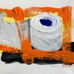 KlopapierRolle_orange Anneliese Hermes